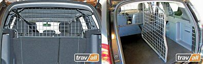 Dacia Duster 2Wd 2010 > -Travall Dog Guaurd & Boot Divider Uk Made-Tdg1374/1254D