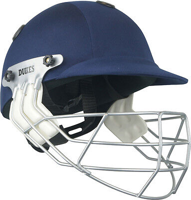 Dukes Legend Cricket Sports Headguard Batsman Protection Headwear Senior Helmet