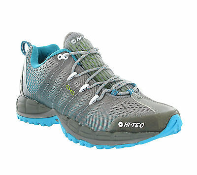 Hi-Tec V-Lite Infinity WPI Grey Vibram Running Womens Trainers UK4-8