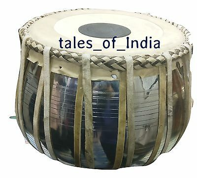 New Tabla ~ Copper Bayan ~ Amazing sound ~ High Quality Puddis ~ Traditional