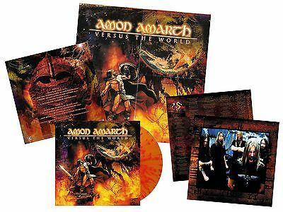 AMON AMARTH Versus The World FIRE SPLATTER Vinyl [LTD200] *EXCLUSIVE* ORIGINALS