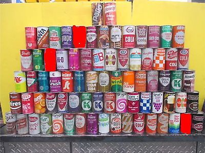 Vintage Soda Can Collection
