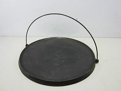 "Antique ""Wagner"" Cast Iron No.14 Griddle w/Bail"