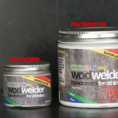 WOD Welder Hand cream - W.O.D Welder CrossFit  hand repair Calluses - All sizes