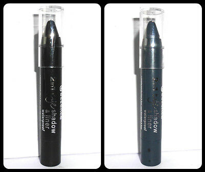 Essence 2in1 eye shadow & liner, Lidschatten & Eyeliner