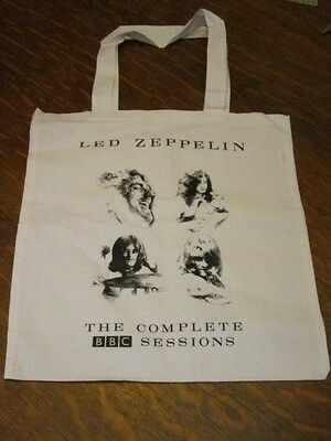 Led Zeppelin - Complete BBC Sessions Record Tote Bag RARE PROMO ONLY lp size