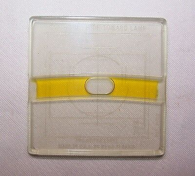 (2) WESS Plastic Projector Level Slides 35mm Shipped FREE