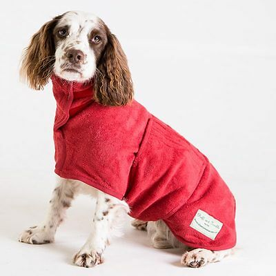 Personalised Embroidered Dog Drying Coat/Gift for Dog Lovers/Pet Present/Towel