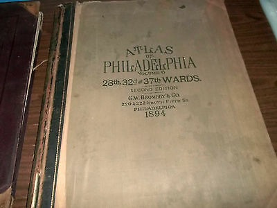Atlas of the City of Philadelphia, 28th, 32nd & 37th Wards, 1894