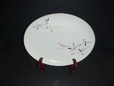 Cherry Blossom Platter Fine China 1067 Japan Vintage 12""