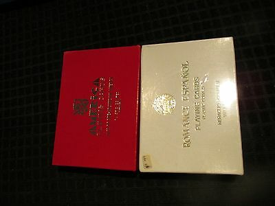 Playing Cards ROMANCE & AMERICA  Fournier from Spain