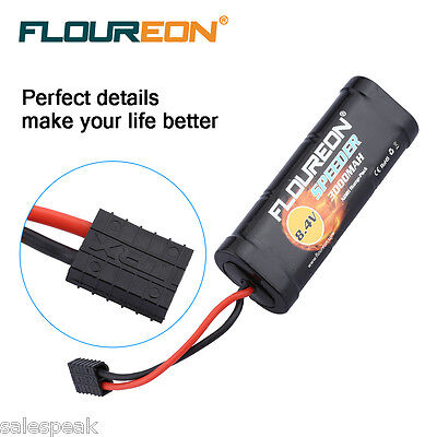 8.4V 3000mAh Ni-MH Battery Traxxas Plug for RC Cars Truck RC Helicopter Hobby AU