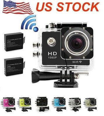WIFI wireless SJ4000 Waterproof Sports DV 1080P HD Video Action Camera Camcorder
