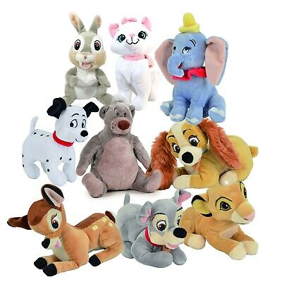 Peluche DISNEY Animal Friends 20cm Originale UFFICIALE a Scelta OLOGRAMMA Plush