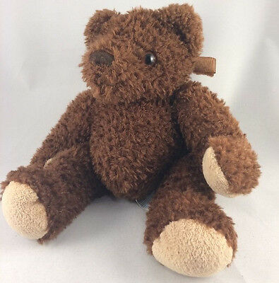 Dex Baby Dark Brown Teddy Bear Plush Womb Sounds Heartbeat Soother Crib Toy