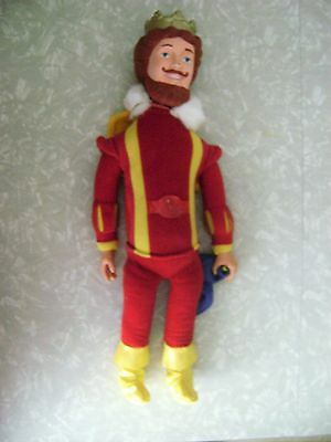 "1980 BURGER KING 20"" King Doll Figure Vintage Fast Food Knickerbocker TOY"