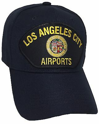 City Of Los Angeles Airports Hat Color Navy Blue Adjustable