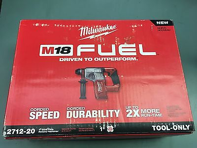 """Milwaukee M18 FUEL 1"""" SDS Plus Rotary Hammer (TOOL ONLY)  2712-20"""