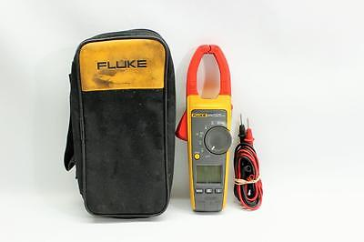 Fluke 374 True RMS Clamp Meter w/ Leads and Soft Case