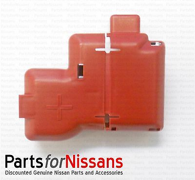 Genuine Nissan Top Post Battery Terminal Protector  W/ Flip Up Cover Fits Many