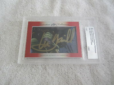 Mark Hamill & Dave Prowse 2017 Leaf Masterpiece Cut Signature auto 1/1 Star Wars