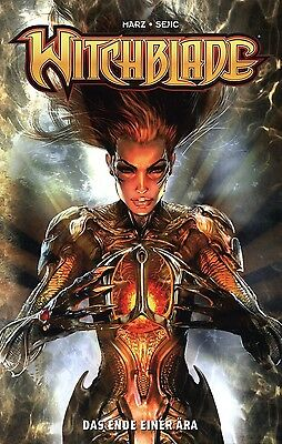 WITCHBLADE #7 PANINI (146-150) deutsch VARIANT-COVER  lim.77 Ex.  STJEPAN SEJIC