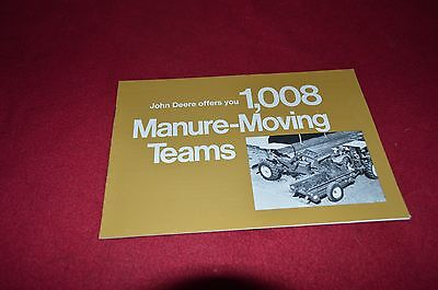 John Deere 1008 Manure Moving Teams Dealer's Brochure YABE12