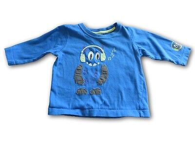 Boys TARGET Cotton Long Sleeve Shirt ~ Size 00 ~ Pre-Owned