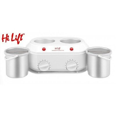 Hi Lift Ceramic Twin Wax Pot 1 Litre And 1 Litre