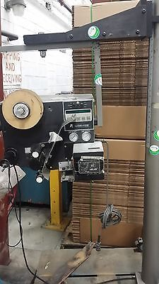Label Aire  labeler  air driven blow applicator with stand
