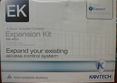 KANTECH EK-403 4-Door Controller & 4 ioProx Readers Transformer KT-400 & P325XSF