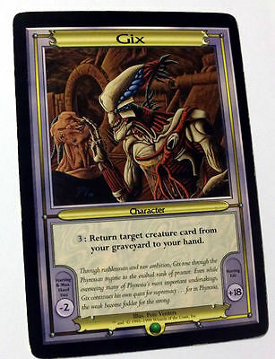 Mtg Magic Paper Vanguard Oversize Card Gix English Promo Very Good Condition
