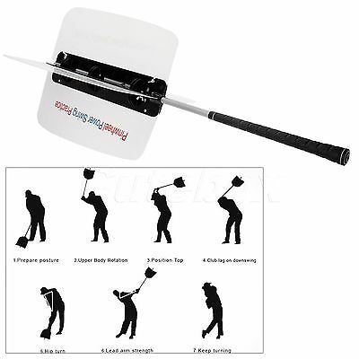 Golf Practicing Aid Golf Swing Grip Power Fan Trainer Resistance Training Tool