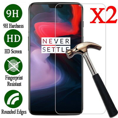 For OnePlus 6T 6 5 5T Clear Genuine Premium Tempered Glass Film Screen Protector