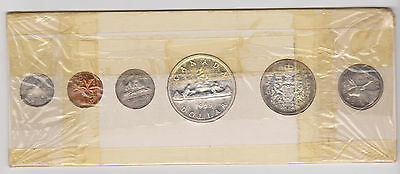 1959 Canada Proof Like Set With 80% Silver Coins (6 Coins)