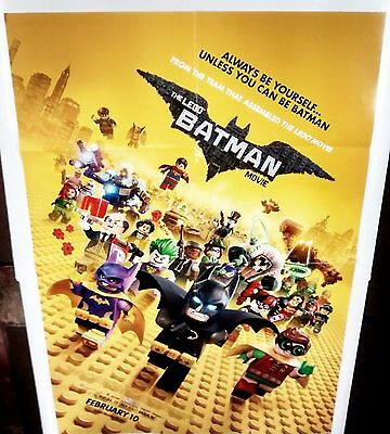 The Lego Batman Movie Retailer Exclusive Large Promo Poster NEW DC COMICS JOKER
