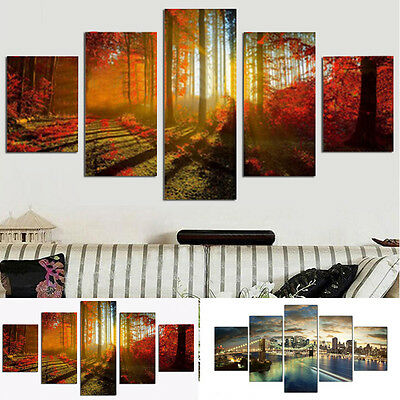 5*Unframed Modern HD Art Oil Painting Print Canvas Picture Home Wall Room Decor