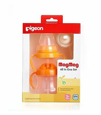 Pigeon Baby Magmag All In One Set 3 Months+
