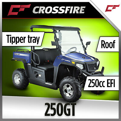 Crossfire 250GT 250cc ATX 4X4 UTV SIDEBYSIDE ATV QUAD DIRT MOTOR TRAILFARM BIKE