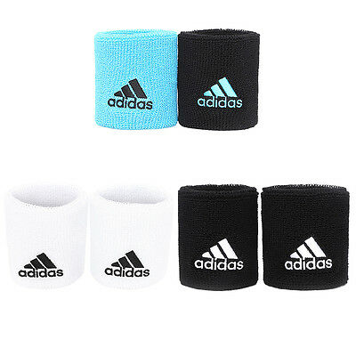 Adidas Tennis Wristbands Small Fitness,Gym,Sports,Tennis White/Black/Blue