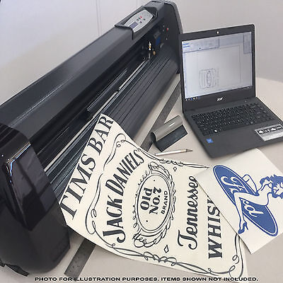Logos, Fonts, Clip Art, Software for Vinyl Cutter Plotter Sign Sticker Machine!