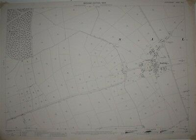 OS Map: 1:2500 Ordnance Survey Map, Leicestershire Sheet XIV.5, 2nd Ed 1904 rep.