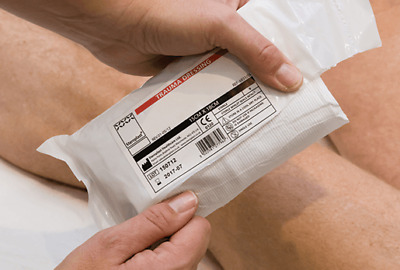 Trauma Dressing Bandage - Major Bleed Trauma, 10cm x 18cm