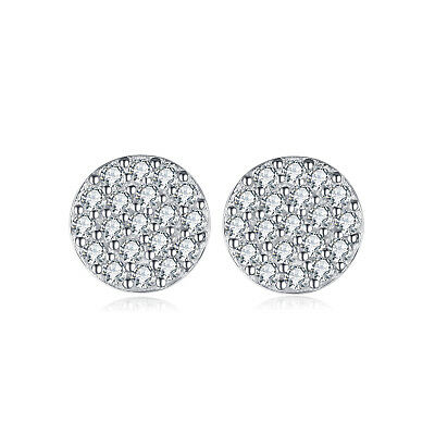 JewelryPalace 0.38ct Runde Zirkonia Ohrstecker 925 Sterling Silber