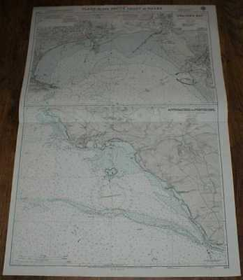 Nautical Chart No. 1161 Wales - S Coast, Swansea Bay & Approaches to Porthcawl
