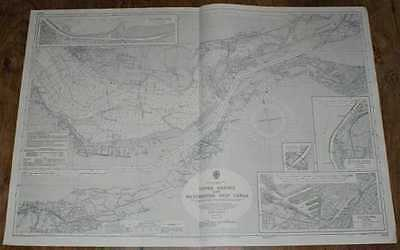 Nautical Chart No. 3478 England W Coast, Upper Mersey and Manchester Ship Canal
