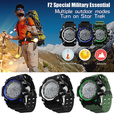 NO.1 F2 IP68 waterproof Bluetooth Pedometer Sport Healthy Outdoor Smart Watch
