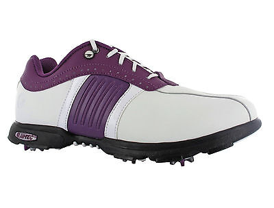 Hi-Tec Milano Leather Waterproof Lace Golf Womens Shoes Trainers Size 4-8 UK