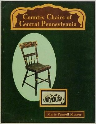 Antique Painted Chairs of Central Pennsylvania - Furniture Folk Art