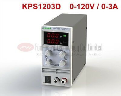 KPS1203D Adjustable Mini Switch DC Power Supply Output 0-120V 0-3A AC110-220V